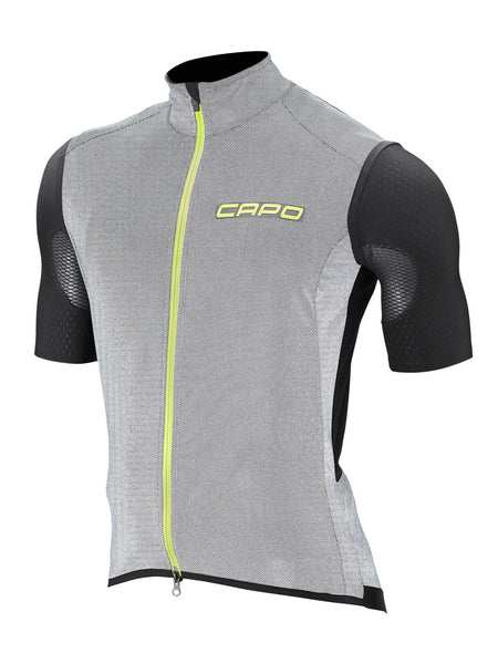 GS SL Wind Vest in Black-Yellow