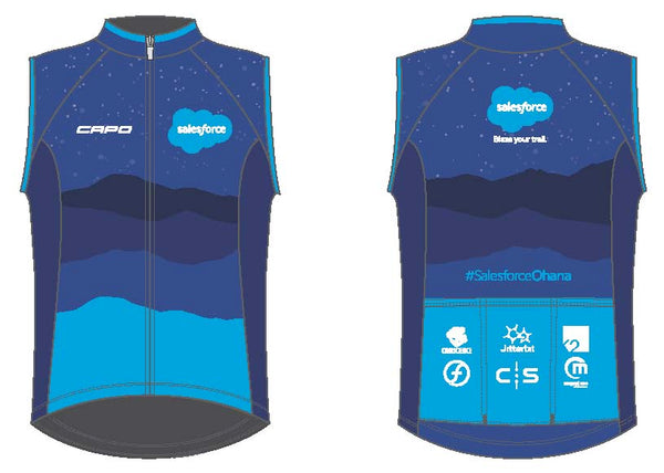 Salesforce Capo Wind Vest 2018