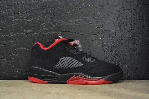 "Air Jordan Retro 5 Low GS ""Alternate"" (Brand New)"