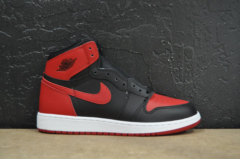 "Air Jordan Retro 1 High OG GS 2016 ""Bred"" (Brand New)"