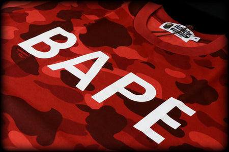 A BATHING APE LONG LENGTH TEE
