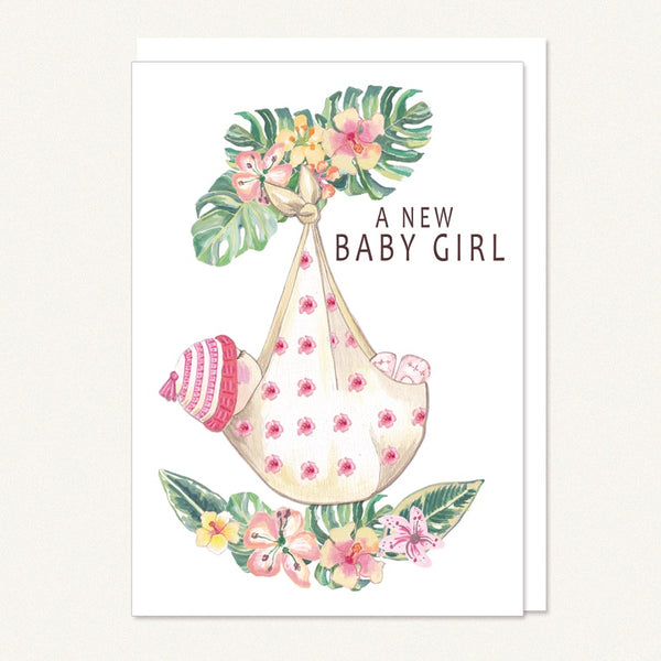 baby girl swaddle