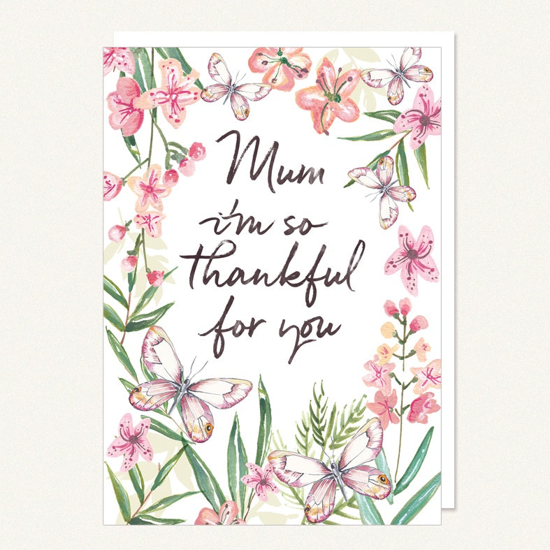 Mum - Thankful For You