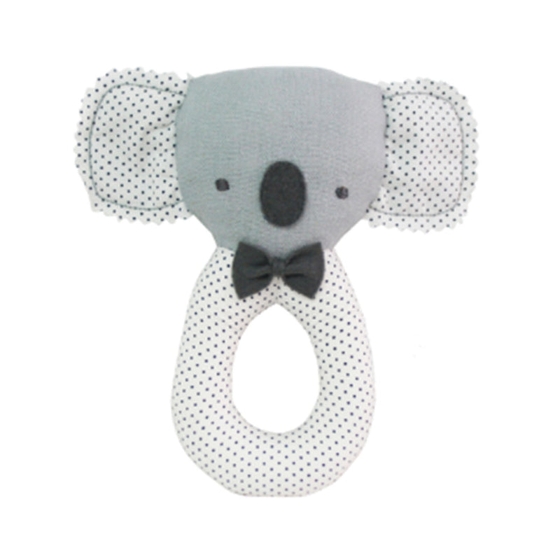Grab Rattle Baby Koala - Grey