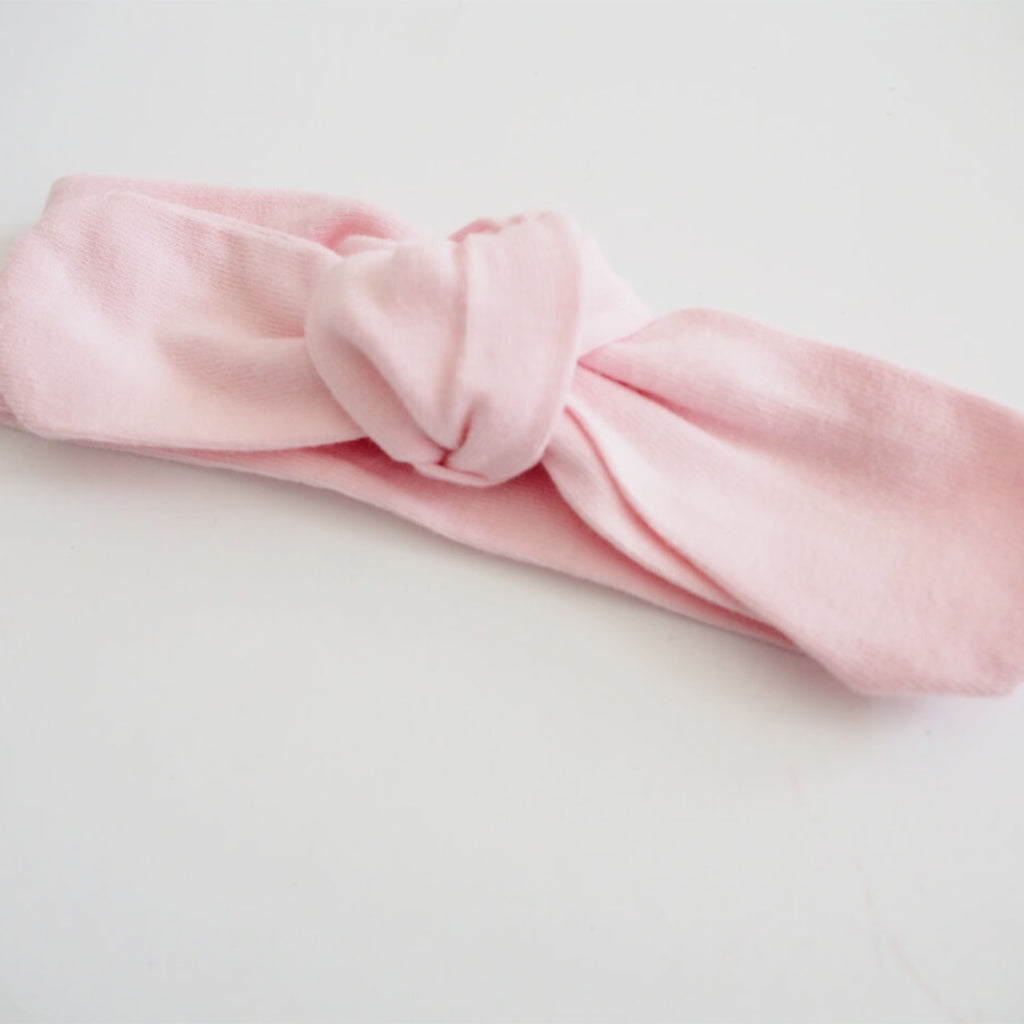 Top Knot Headband - Pink Fantasy