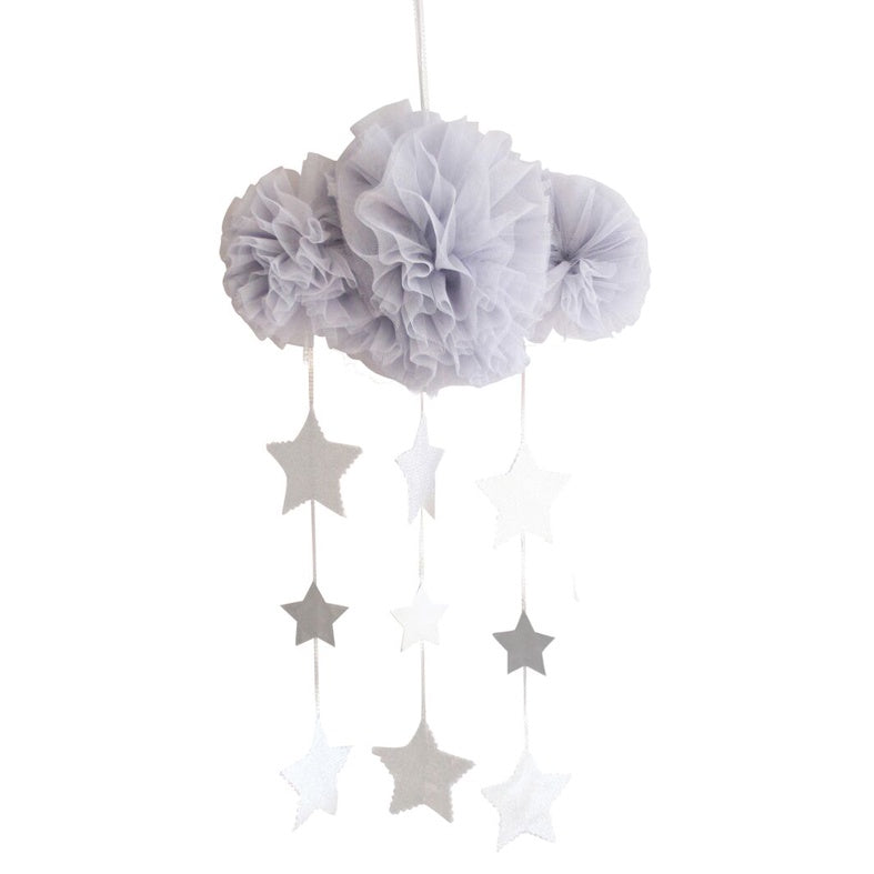 Mobile Tulle Cloud - mist