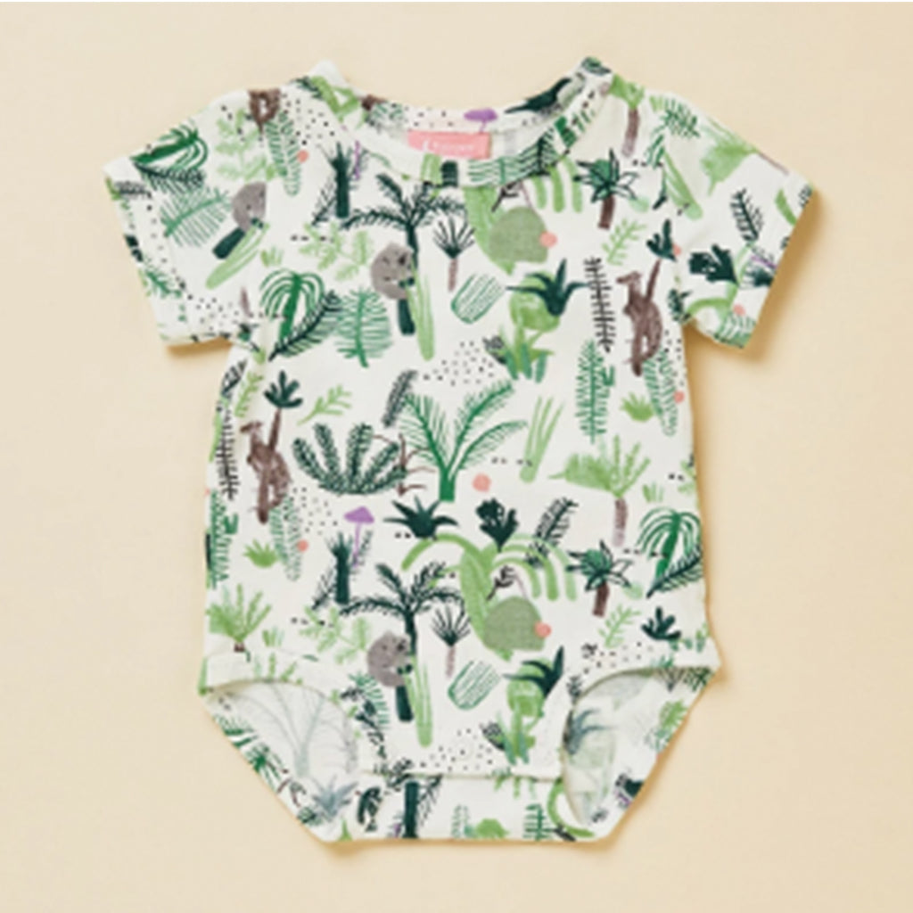 Bodysuit Short Sleeve - Fern Gully