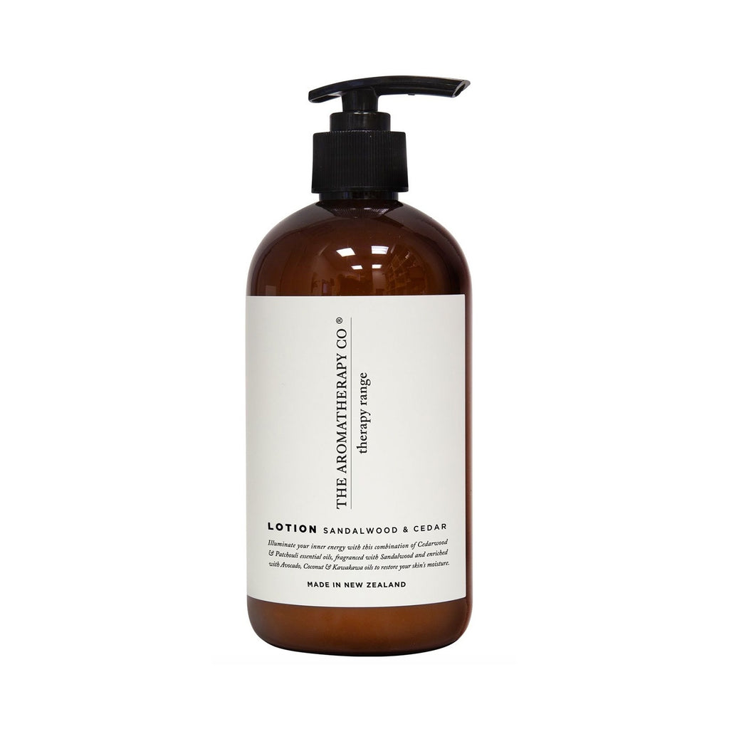 Hand & Body Lotion Therapy 500ml - Sandalwood & Cedar