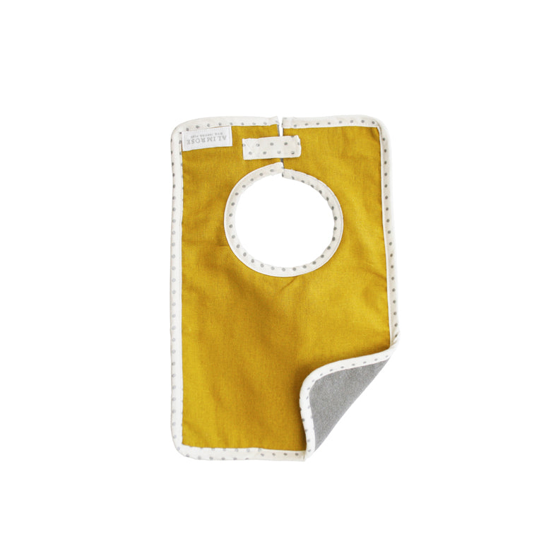 Bobby Bib Butterscotch Linen