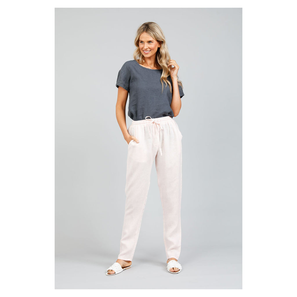 Pants Captain Pink Linen