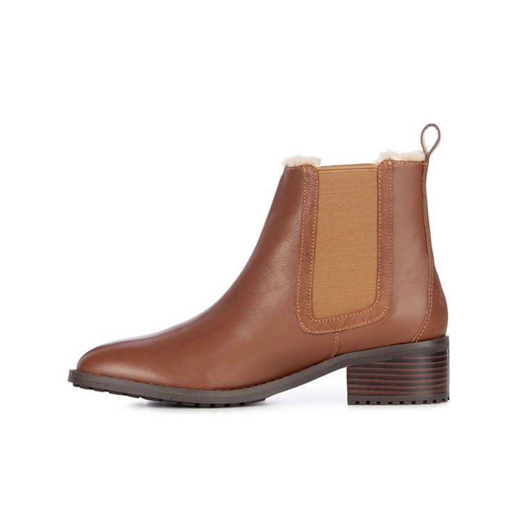 Ellin Boot leather Oak