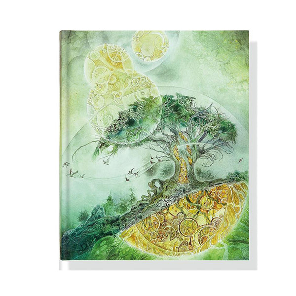 Large Hard Cover Journal - Timeless Tree