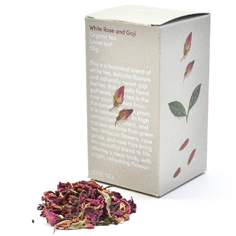 Tea - White Rose and Goji Loose Leaf