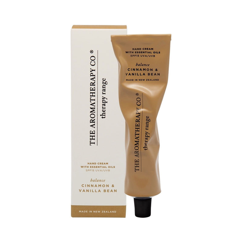 Hand Cream Therapy 15ml Balance Cinnamon & Vanilla