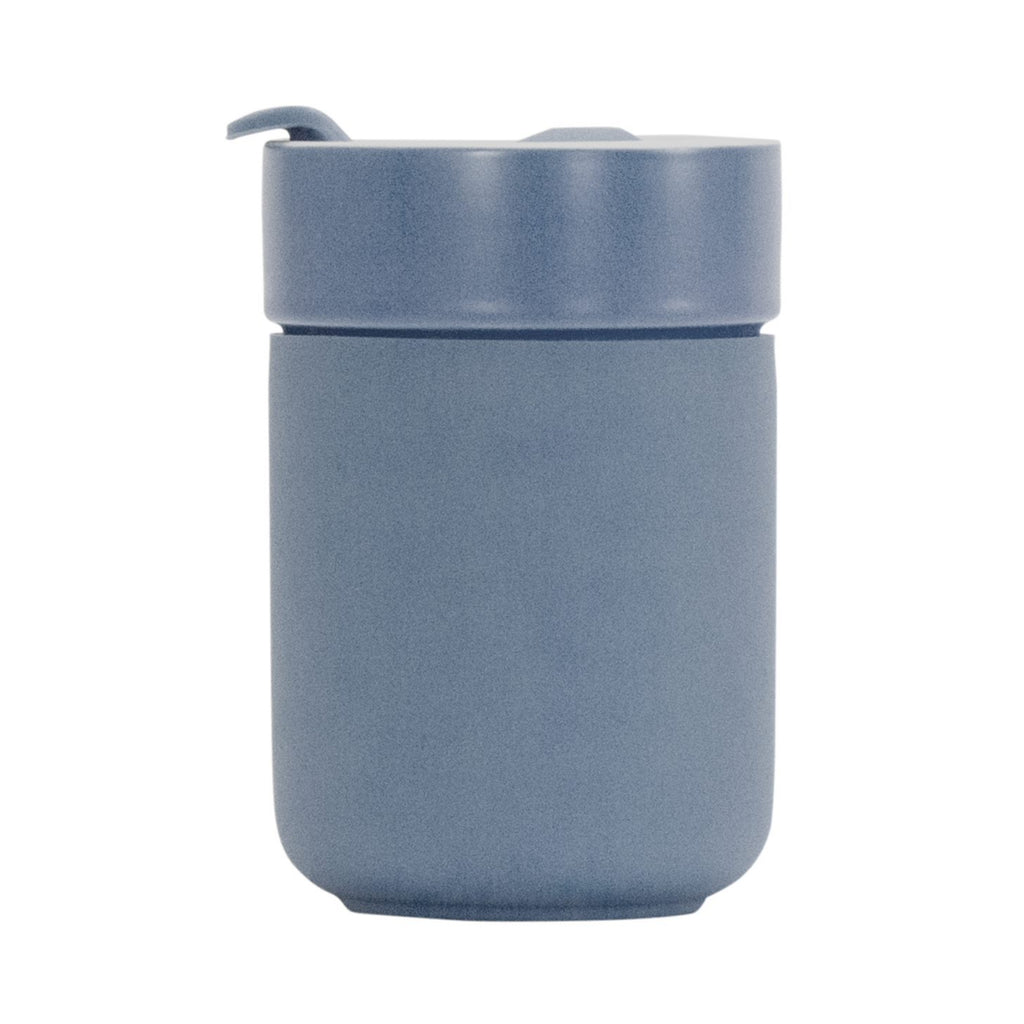 Ceramic Travel Care Cup - Dusty Blue
