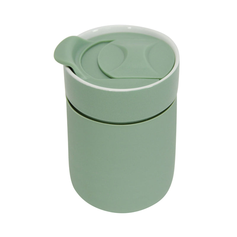 Ceramic Travel Care Cup - Sage
