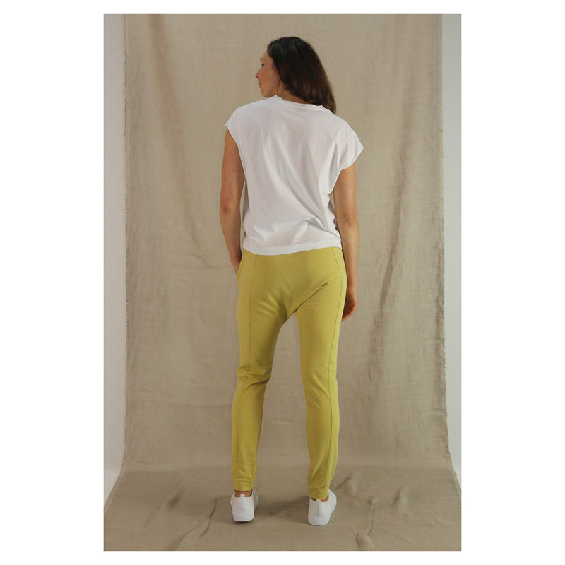 Pant Drop Crotch French Terry - Mustard