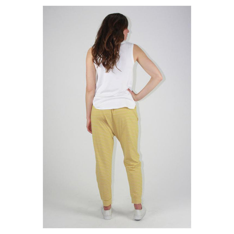 Pant Drop Crotch - Mustard Stripe