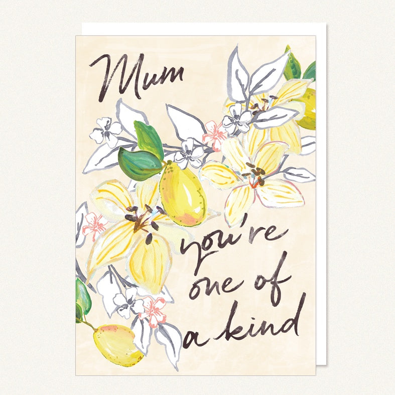 Card Mum- You're One Of A Kind