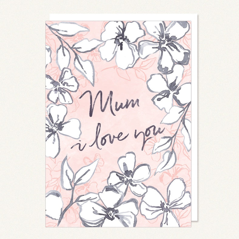 Card Mum - I Love You