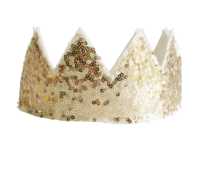 Crown Sequin Gold