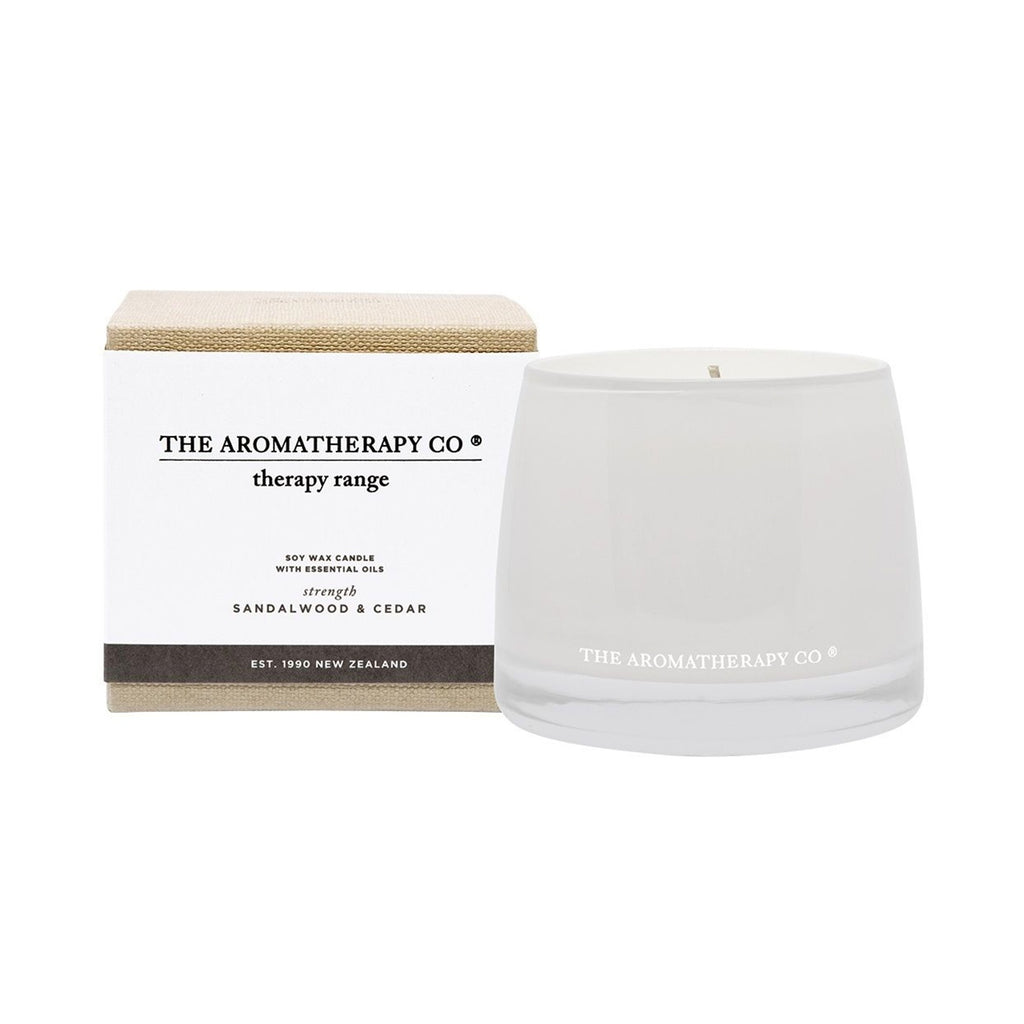 Candle Therapy Strength - Sandalwood & Cedar