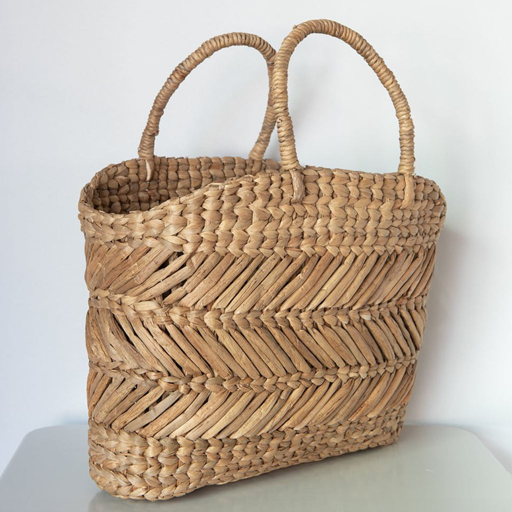 Basket Shopper Indo Retro Water Hyacinth