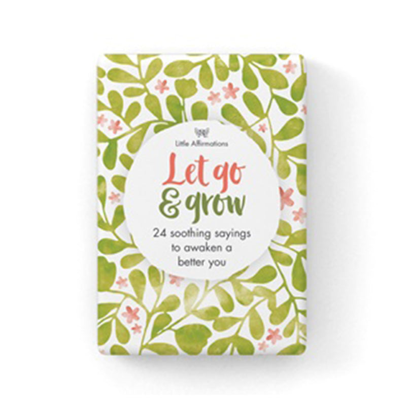 Let Go and Grow Cards