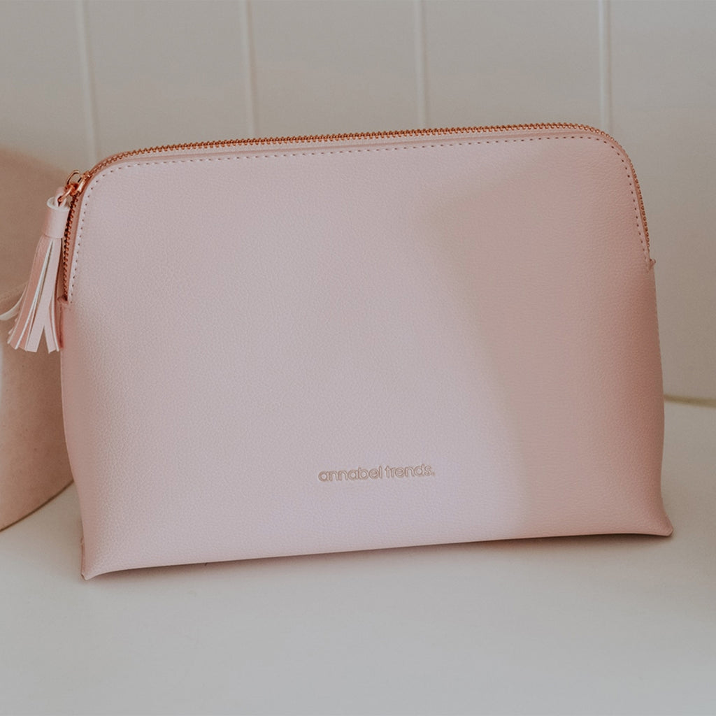 Vanity Bag Large - Pale Pink