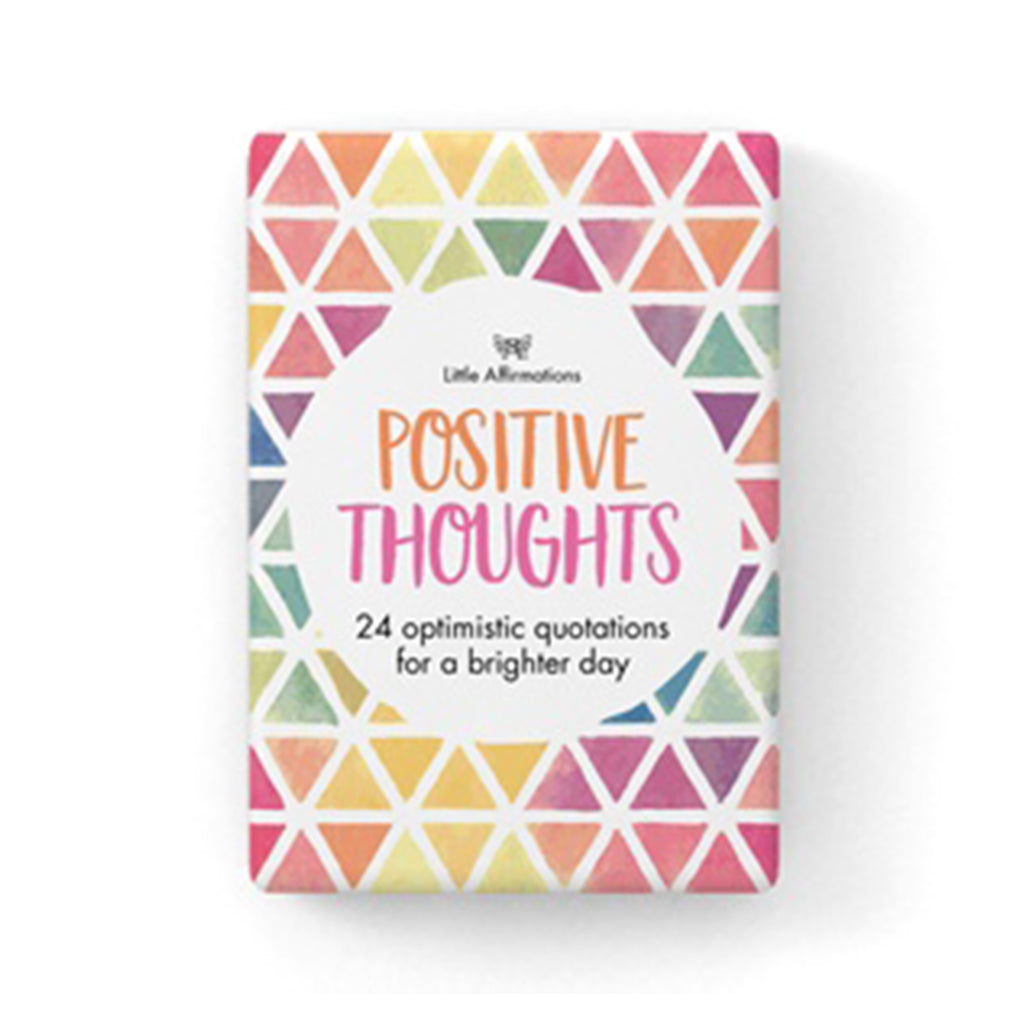 Positive Thoughts Cards