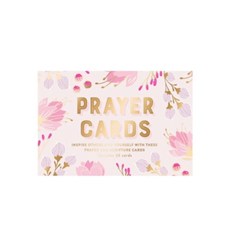 Prayer Cards Lavender Floral