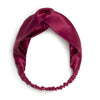 Silk Headband - Raspberry