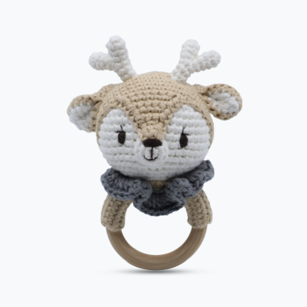 Shaker Ring Toy - Reindeer