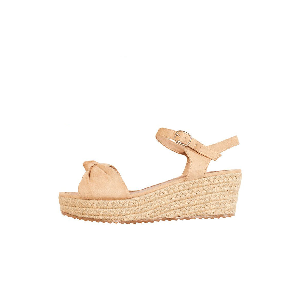Riviera Wedge - Beige