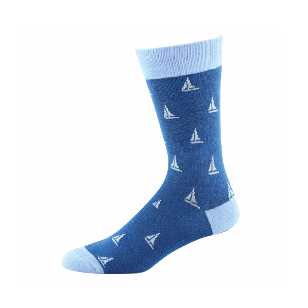 Bamboo Socks Sailing