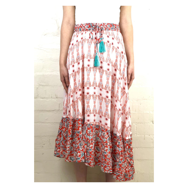 Skirt Niagra Novelty Print