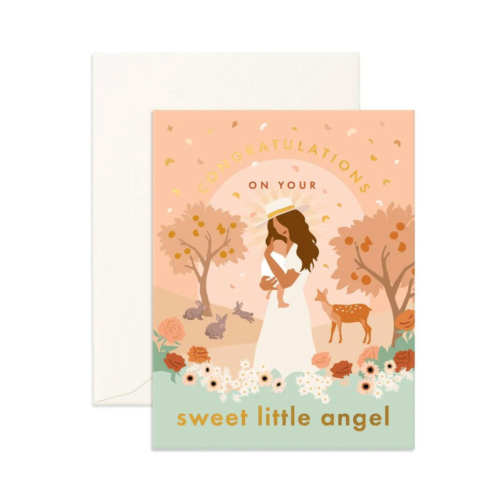 Card Sweet Little Angel