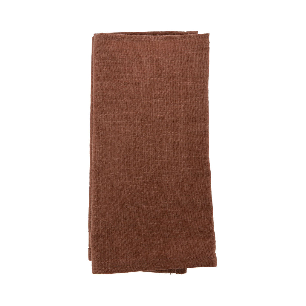 Napkin Stonewashed Set 4 - Terracotta