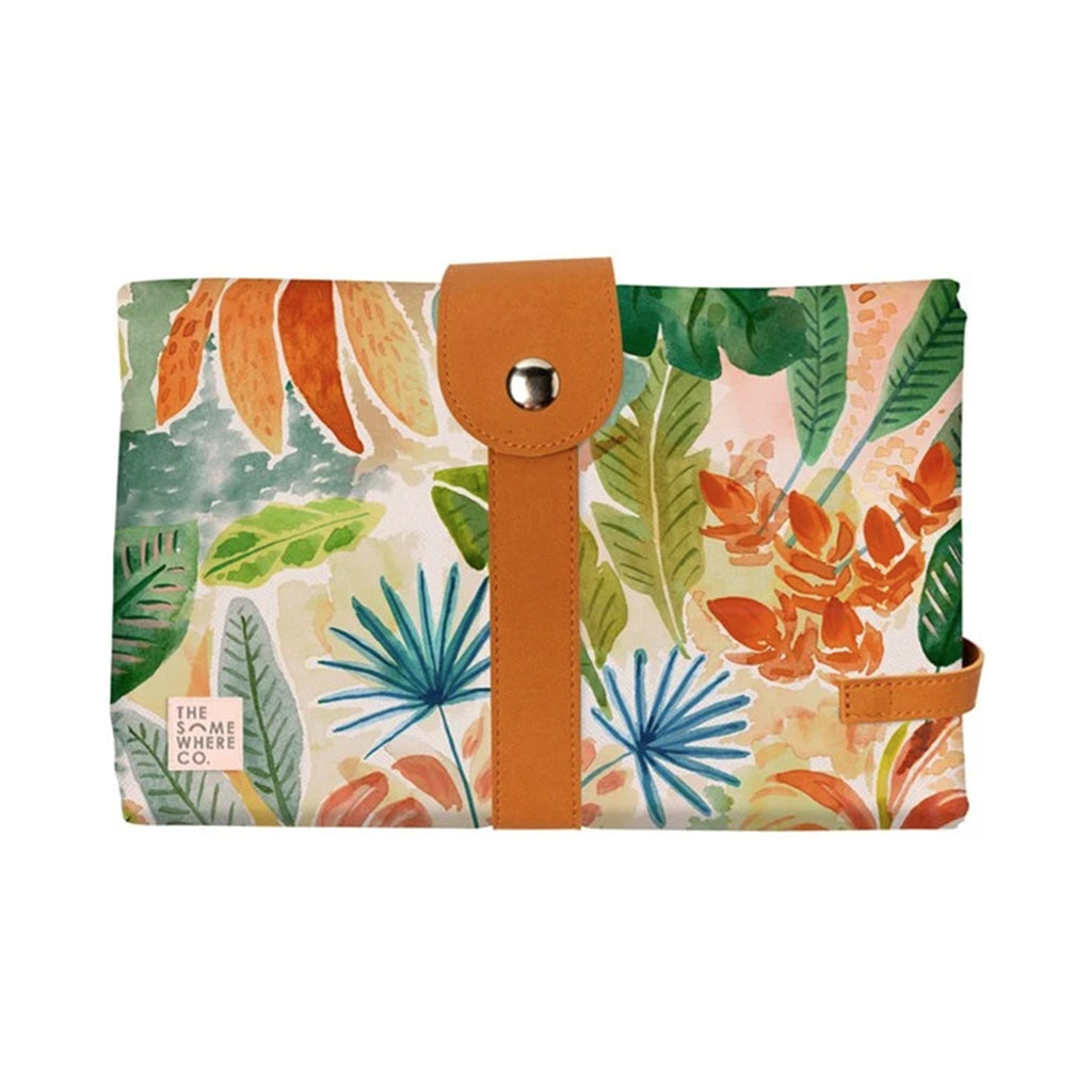 Travel Change Mat - Caribean Jungle
