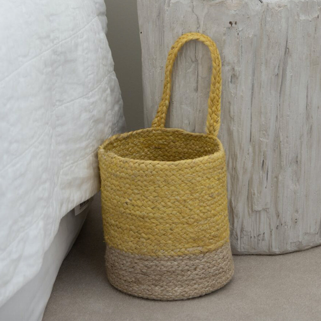 Basket Two Tone Turmeric Large