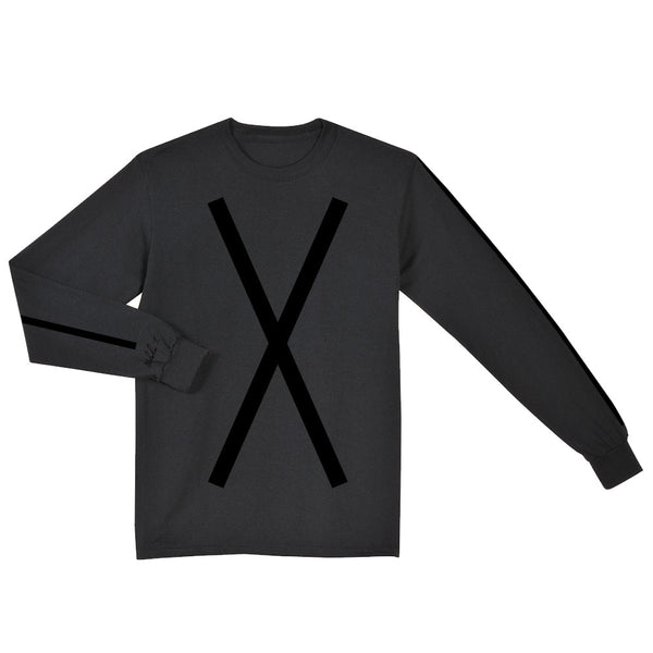 Malcolm X Long Sleeve Shirt in Black