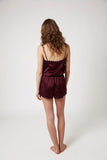 Scallop Short - Burgundy