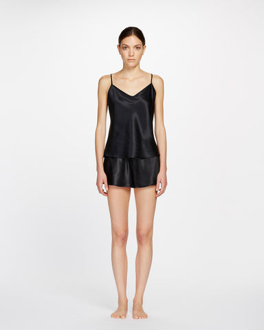 Plain Silk Cami - thin strap