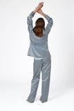 Diamond Print Pyjama - Chalk