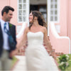 scalloped earrings (as featured in Bermudian Weddings Magazine)