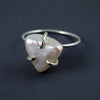 Bermuda Triangle pearl ring