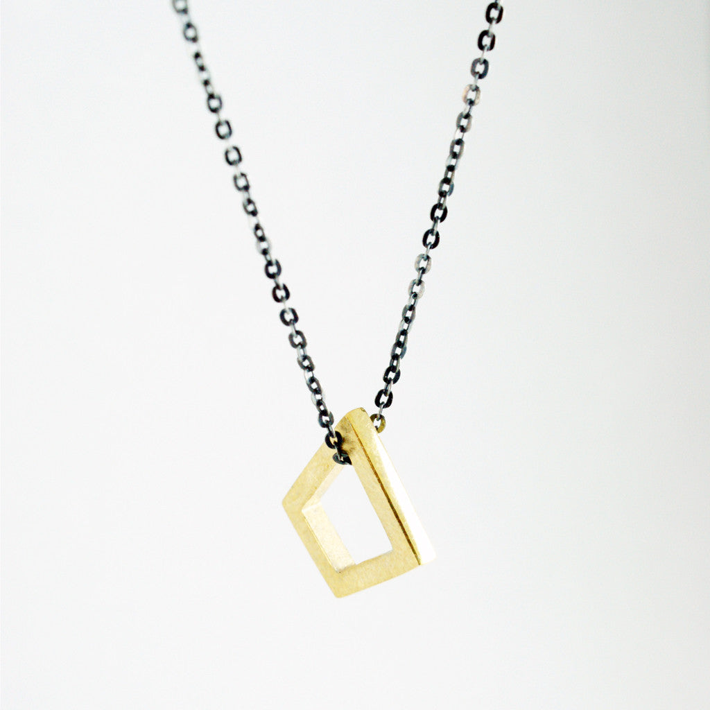 geometric product the tribecca gold pendant large interior designer