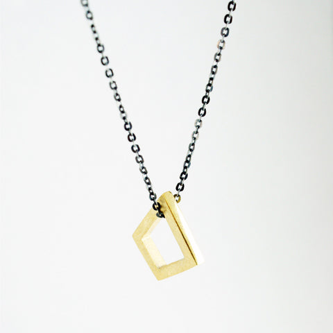 small single geometric pendant