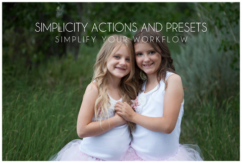 Store Closing Sale!! Simplicity Action and Preset Bundle