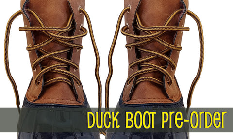 Duck Boot Pre Order